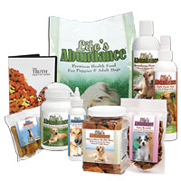 Click here to see some of Life's Abundance healthy products for dogs.